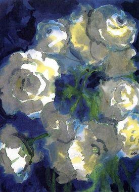Fiori bianchi, Emil Nolde